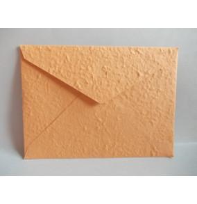 K-20.224 Obálka-ručný papier-veľká-oranžová-bledá