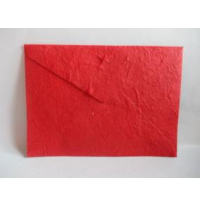 K-20.224 Obálka-ručný papier-veľká-červená