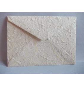 K-20.224 Obálka-ručný papier-veľká bledo krémová