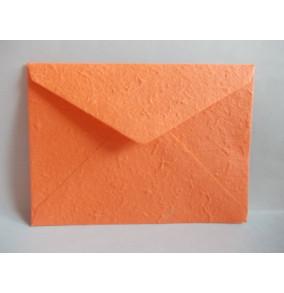 K-20.224 Obálka-ručný papier-veľká-oranžová-stredna