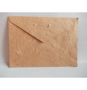 K-20.224 Obálka-ručný papier-veľká-stredne-hnedá