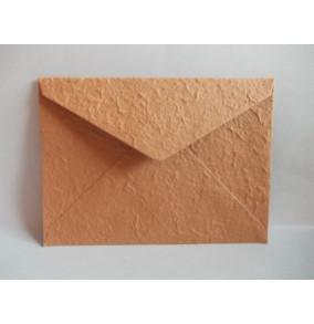 K-20.224 Obálka-ručný papier-veľká terakota-stredna