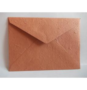 K-20.224 Obálka-ručný papier-veľká-tmavo-hnedá