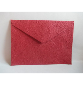 K-20.224 Obálka-ručný papier-veľká-vínová