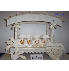 K-20.015 Darčekové krabičky svadobné