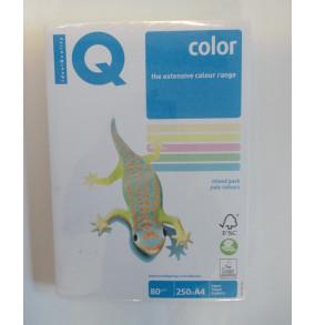 K-17.021 Farebný papier IQ color 5x50 mix pastelové farby, A4 80g