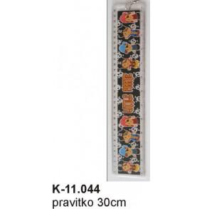 K - 11.044 Pravítko 30cm - pevné
