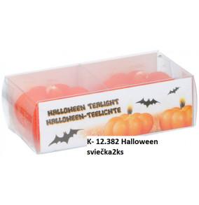 K-12.382 Halloween sviečka/2ks