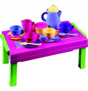 Čajová súprava so stolíkom