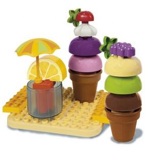 K-2703 Unico skladačky-zmrzlinár- 8614-00CC