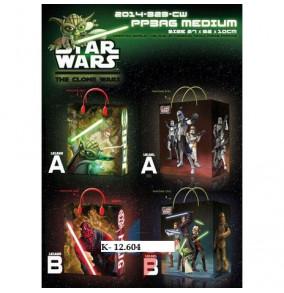 K-12.604 Plastová taška darčeková- Star-wars