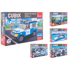 K-18.056 Skladačky cubix polícia-38246