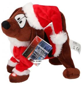K-12.807 Vianočný pes hrajúci, chodiaci
