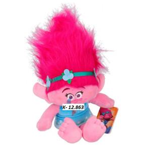 K-12.863 Plyš Troll ružový