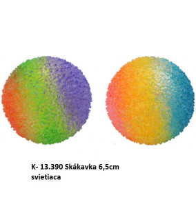 K-13.390 Skákavka 6.5cm svietiaca