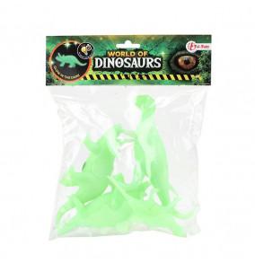 Svietiaci dinosary/4ks