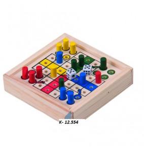 K-12.554 Spoločenská hra- drevenná