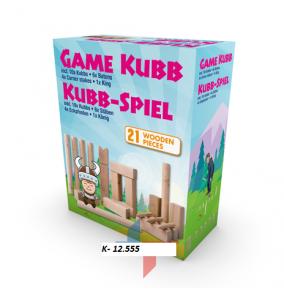 K-12.555 Spoločenská hra- Kubb