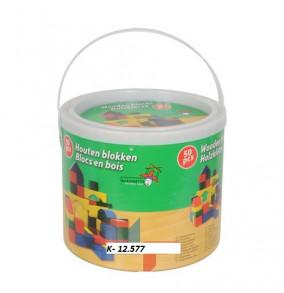 K-12.577 Drevenné kocky-50ks