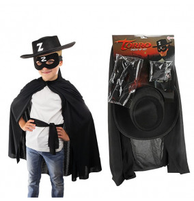 K-19.179 Zorro karnevalový kostým