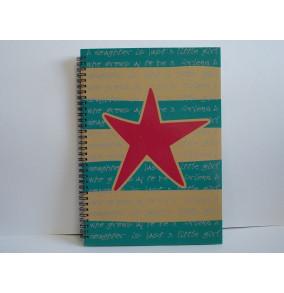 K-20.503 Záznamová kniha A4- špirála-hviezda