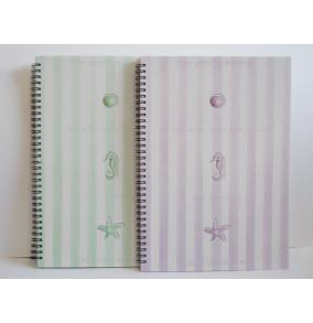 K-20.021 Záznamová kniha A4-špirála-morské