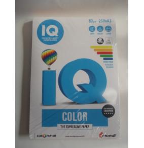 K-17.007 Farebný papier IQ color 5x50 mix intenzívne farby, A3 80g