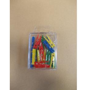 K-20.890 Plastové kolíky farebné - 20ks