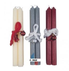 K-9668 Kónické sviečky-4ks