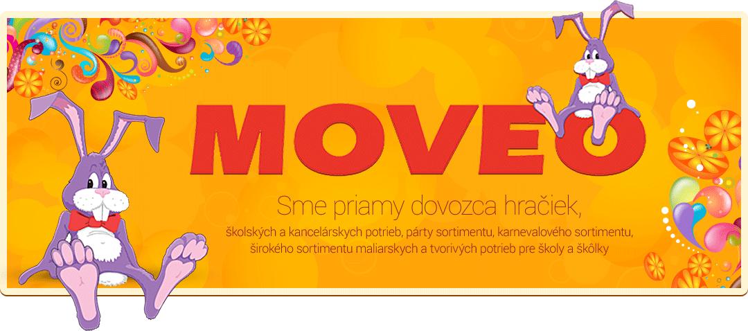 Zuzana Ivanová - MOVEO - predaj hračiek, kancelárskych potrieb
